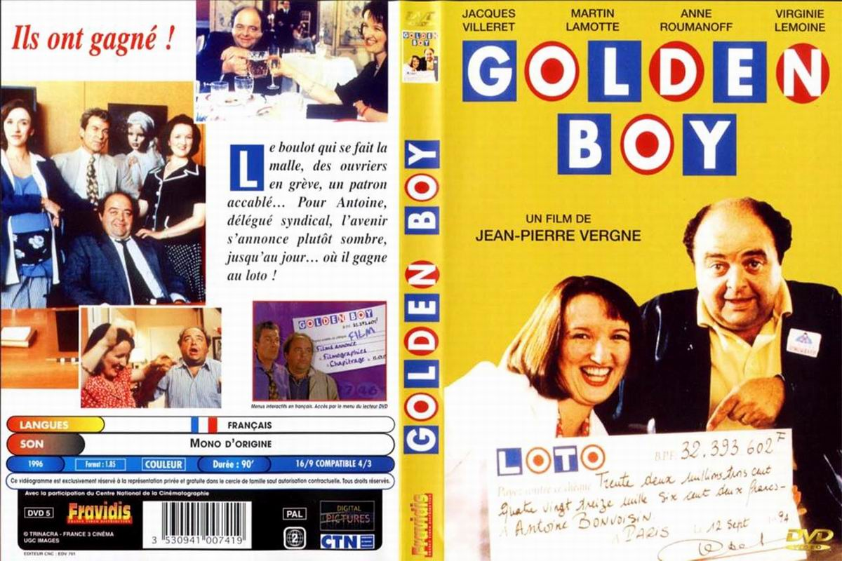 Jaquette DVD Golden boy