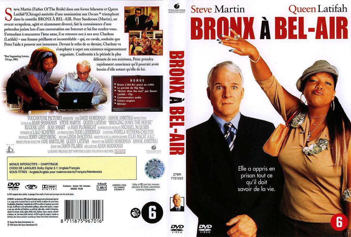 Jaquette DVD Bronx à Bel-Air