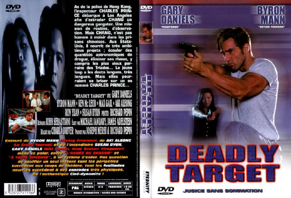 Jaquette DVD Deadly target